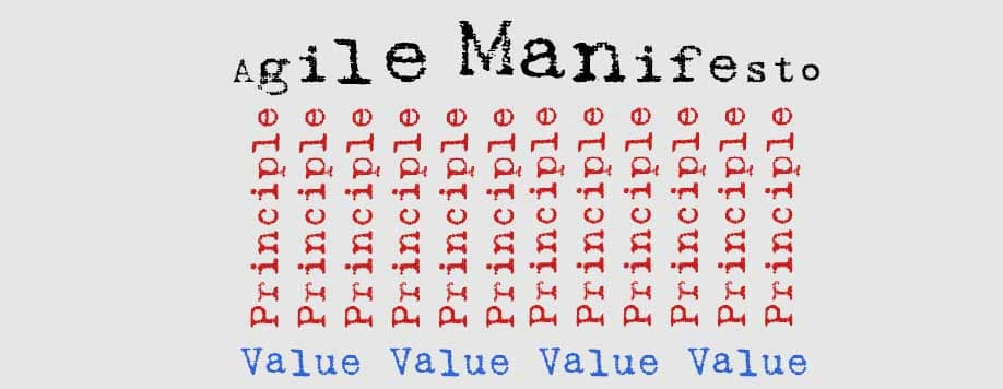 Agile Manifesto - founded on values and principles