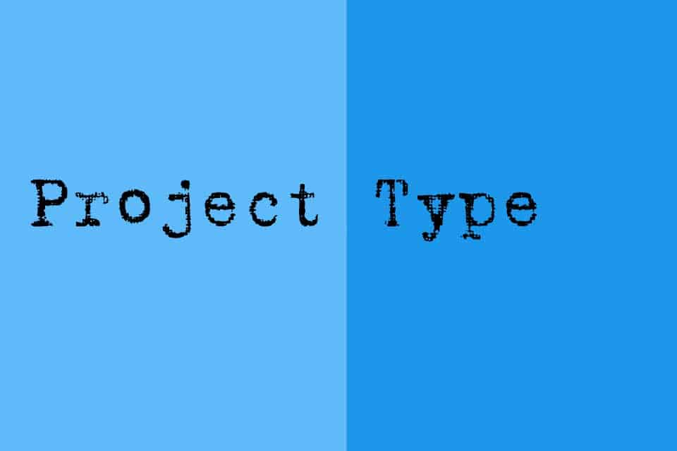 Smartpedia: What is a Project Type?