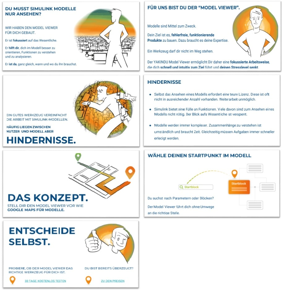 The new marketing story (in German) - jobs to be done