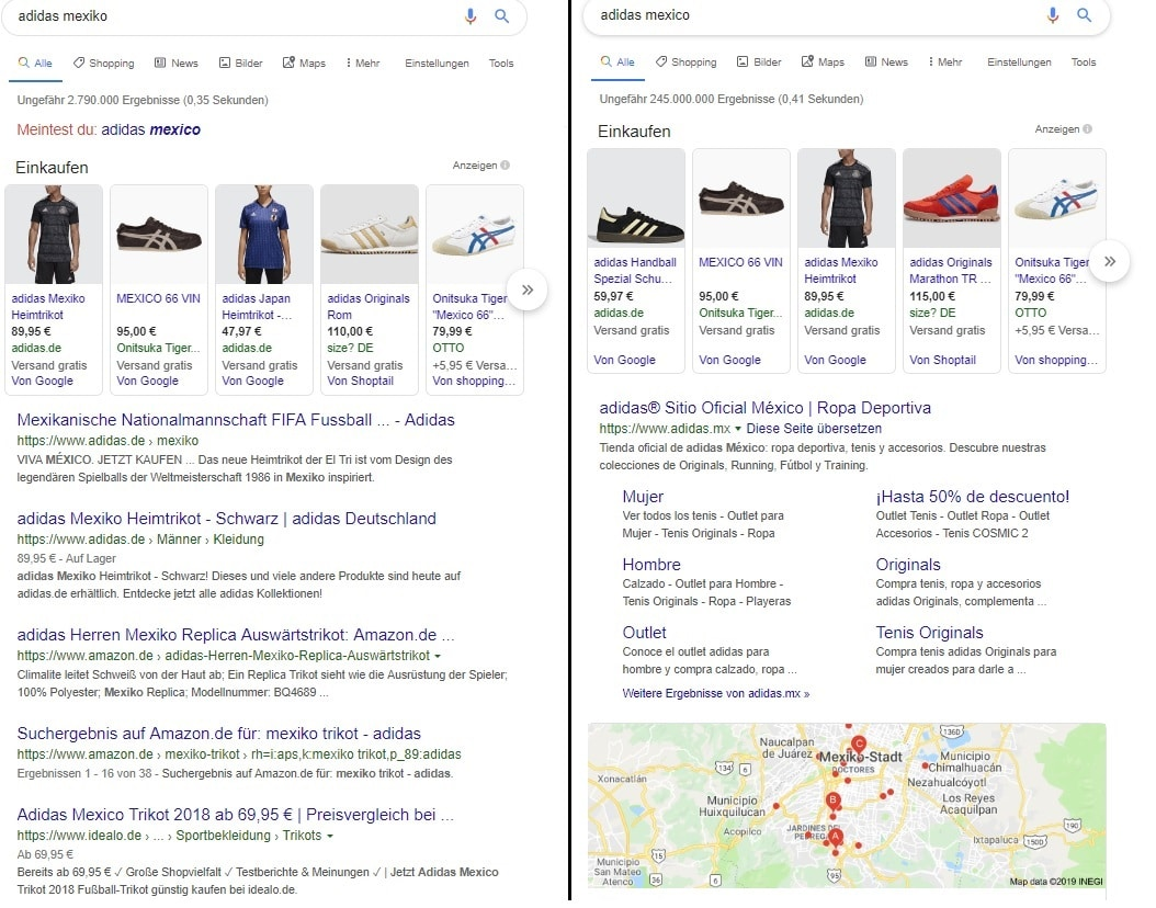 The Unclear Search Intention - Google Ranking Factors
