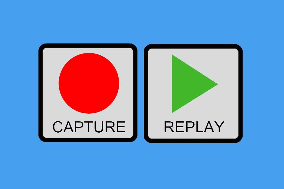 Smartpedia: What is Capture and Replay?