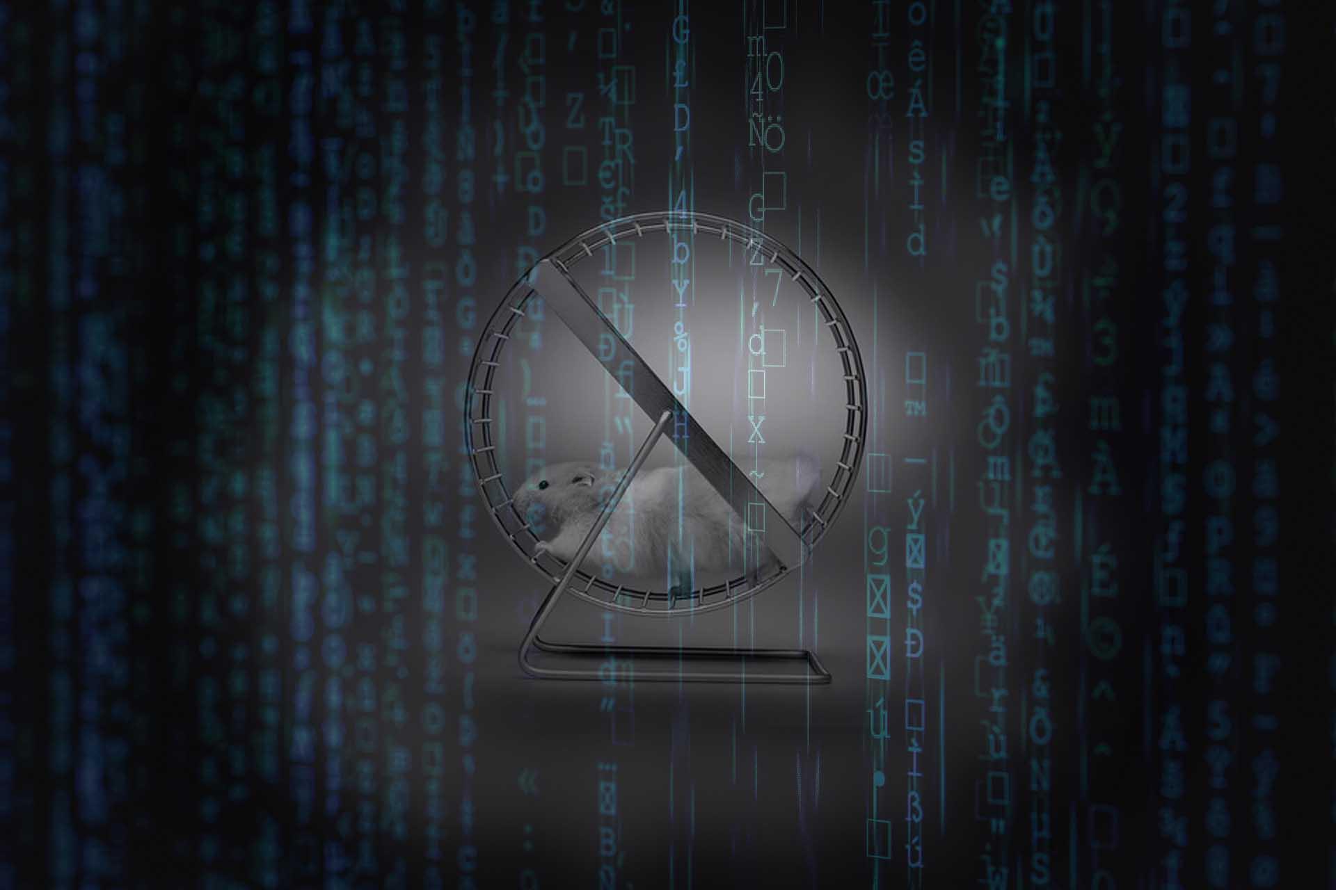 t2informatik Blog: Burnout, digitalisation and the hamster wheel