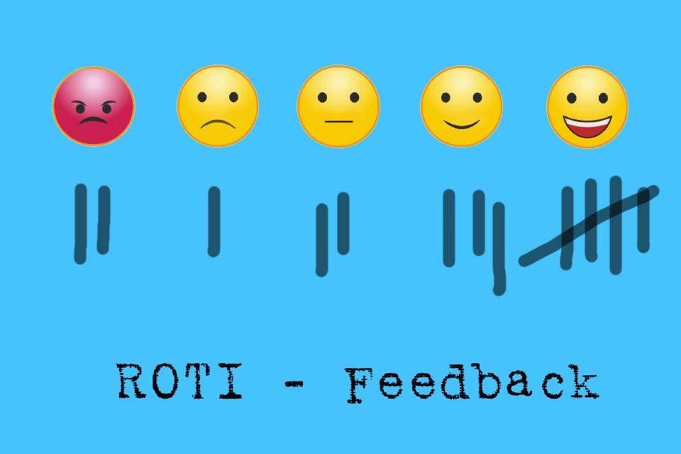 Smartpedia: What is the ROTI feedback?