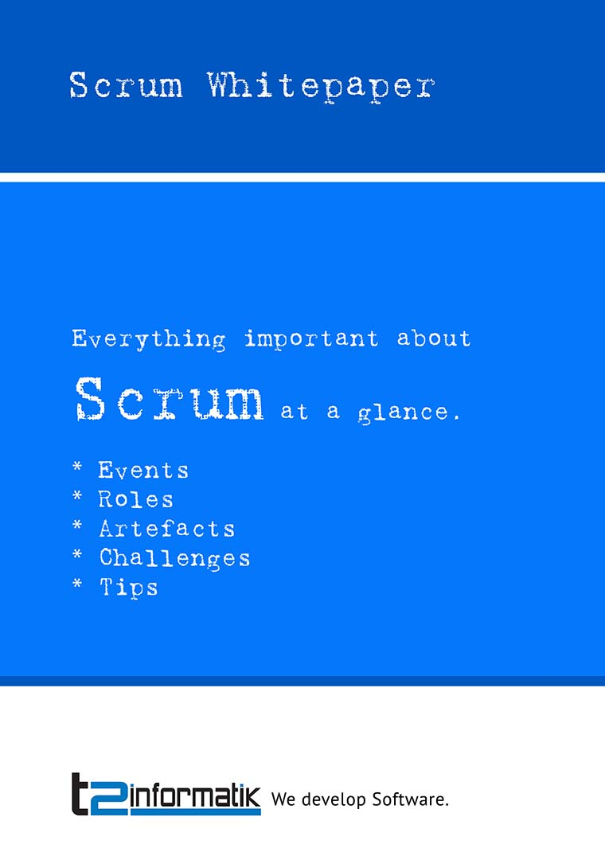 Scrum Whitepaper - Downloads - t2informatik