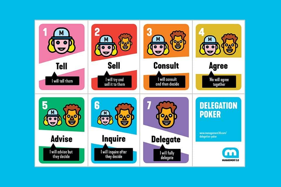 Delegation Poker - playfully defining the delegation of decisions