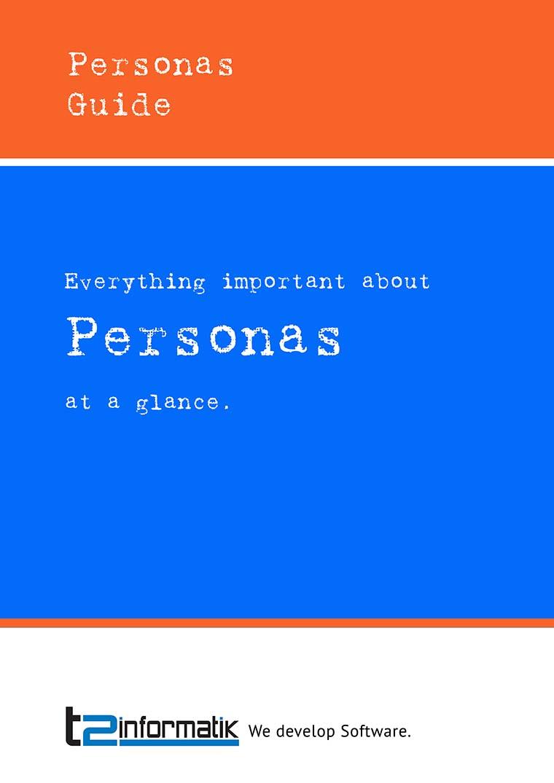 Personas Guide to take away
