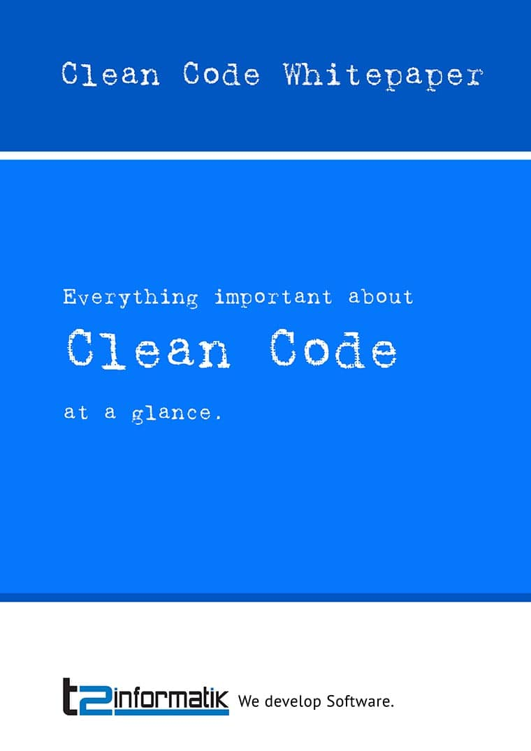 Clean Code Whitepaper for free