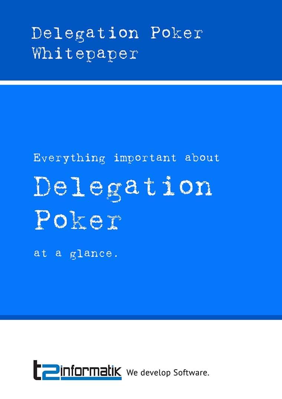 Delegation Poker Whitepaper to take away