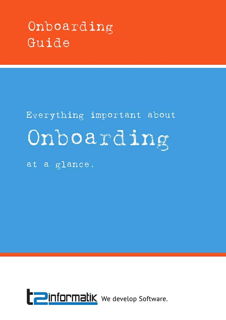 Onboarding Guide to take away