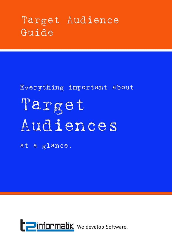 Target Audience Guide to take away