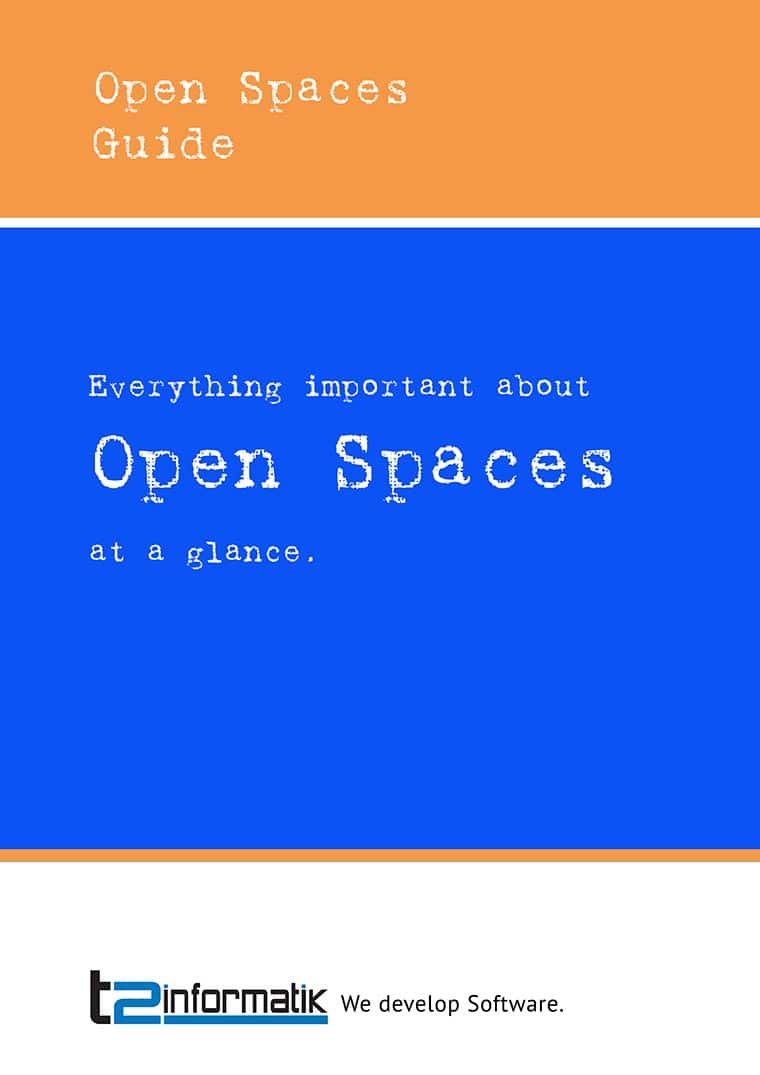 Open Space Guide to take away