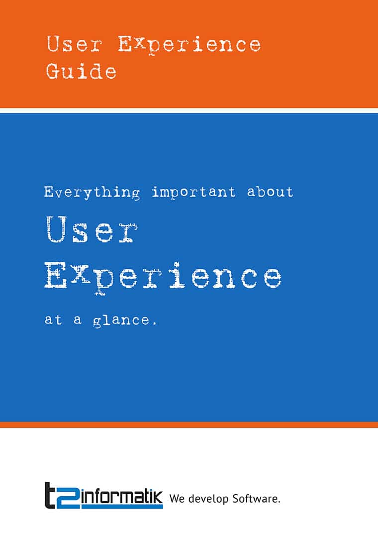 User Experience Guide to take away