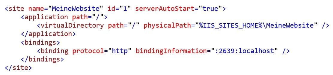 Code Beispiel localhost - t2informatik