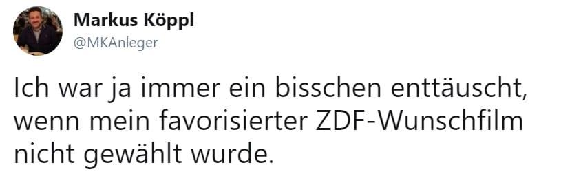 Tweet von Markus Köppl - Blog - t2informatik