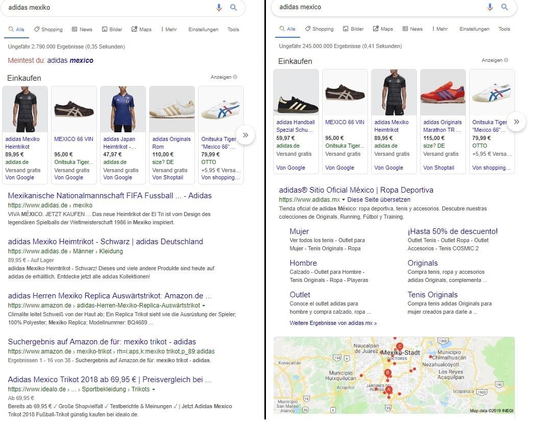 Die unklare Suchintention - Google Ranking Faktoren