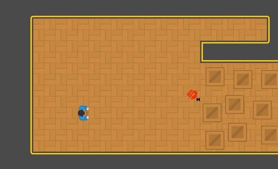 GravIT - ein Spiel, um mit der Kontrolle der Schwerkraft aus dem Büro herauszukommen