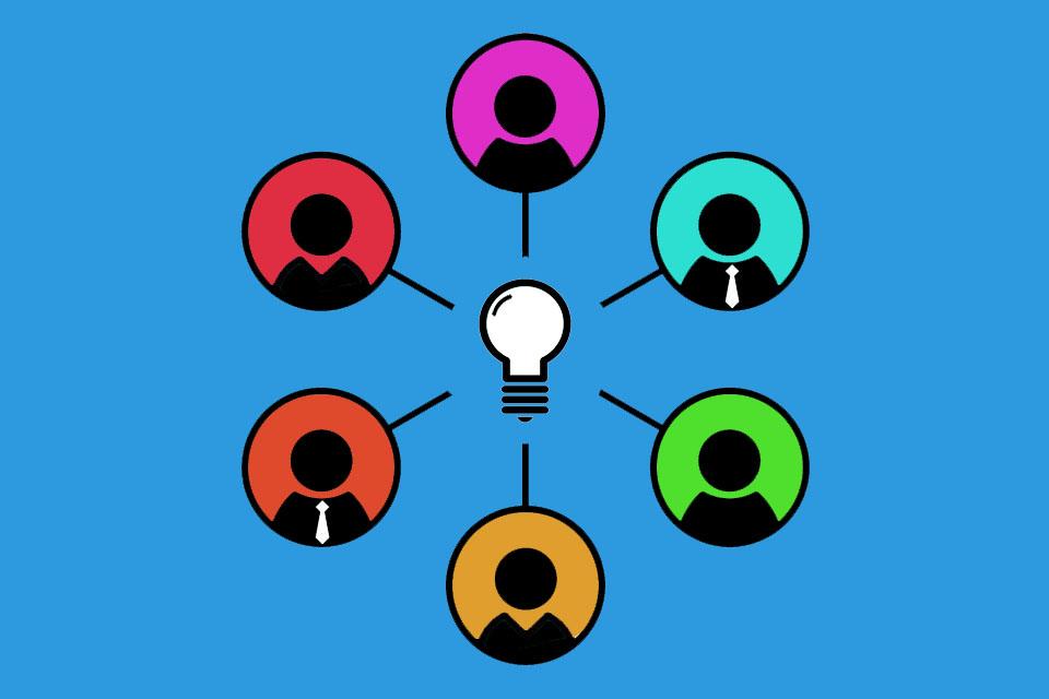 Brainstorming - im Team gemeinsam Ideen und Lösungen entwickeln