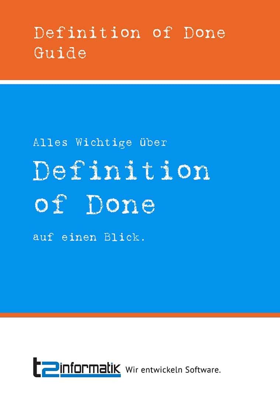 Definition of Done Guide zum Herunterladen