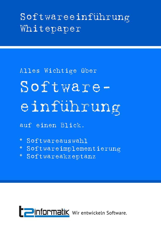 Softwareeinführung Whitepaper zum Herunterladen