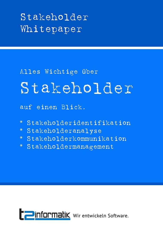 Stakeholder Whitepaper zum Mitnehmen
