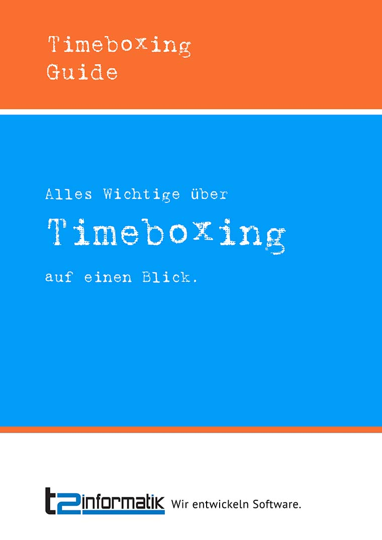 Timeboxing-Guide - Downloads - t2informatik