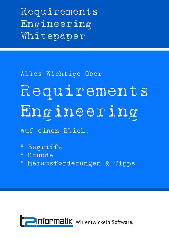 Requirements Engineering Whitepaper zum Herunterladen