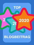 Top 2020 Blogbeitrag - einer der am meisten gelesenen Beiträge in 2020