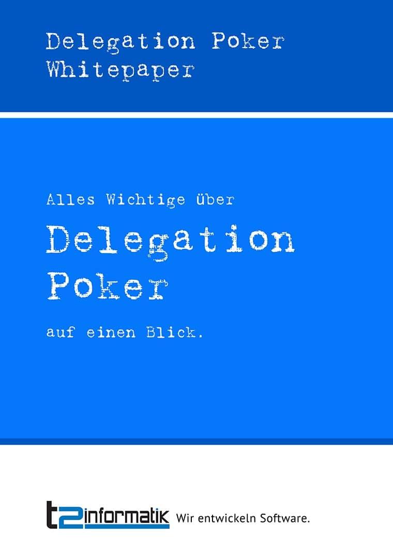 Delegation Poker Whitepaper zum Herunterladen