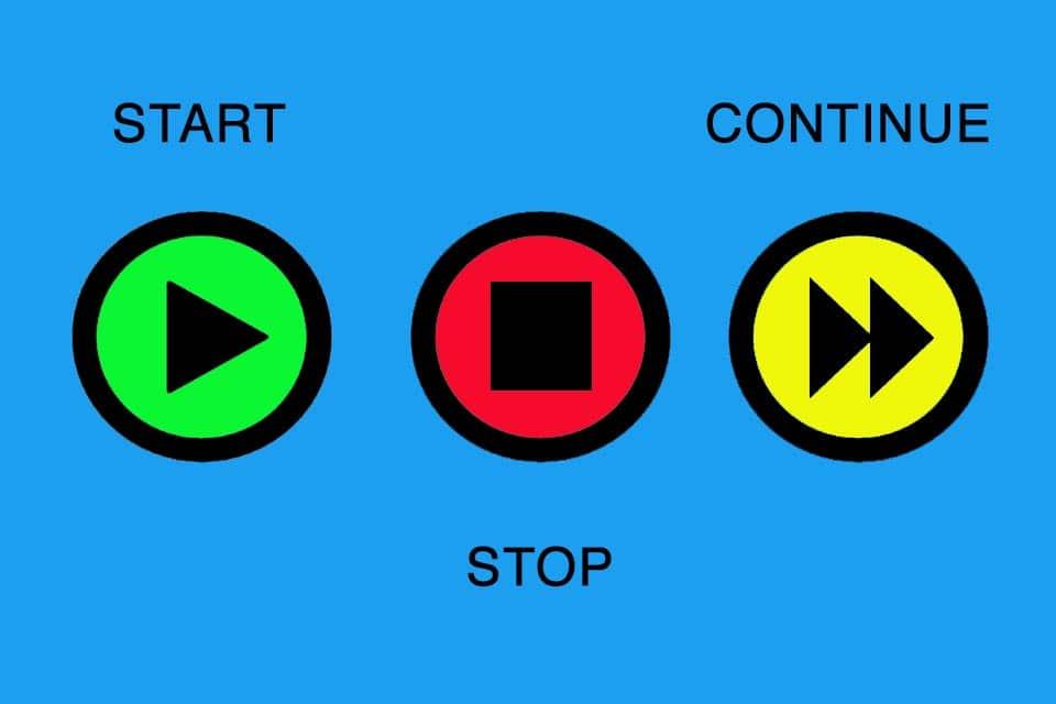 Start-Stop-Continue-Retrospektive - Wissen kompakt - t2informatik