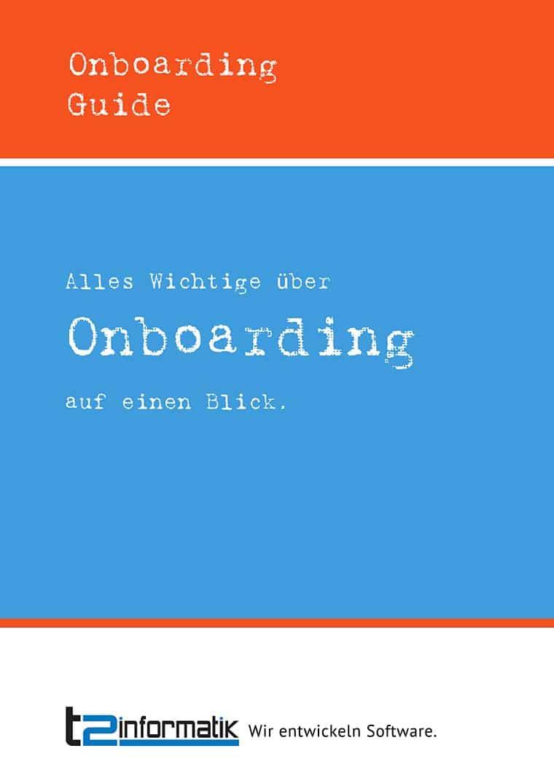 Onboarding Guide zum Mitnehmen